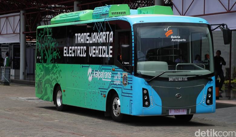 Bus Listrik Foto: Pradita Utama