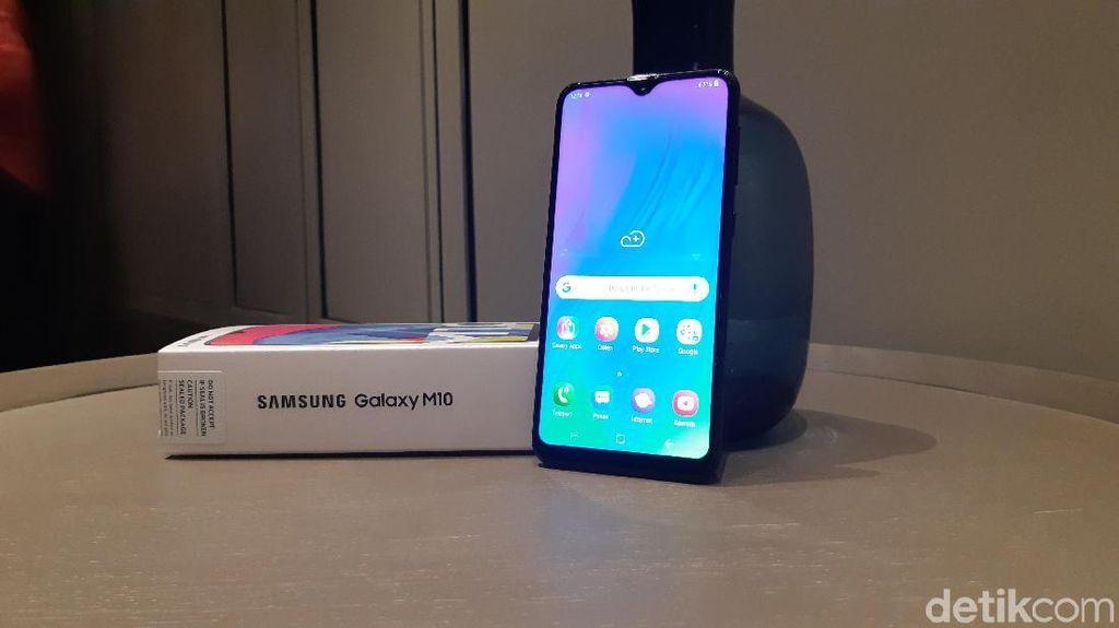Jual Galaxy M10 di Indonesia, Samsung Jajal Strategi Baru