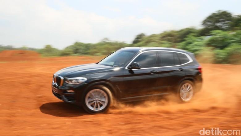 BMW X3. Foto: Dina Rayanti