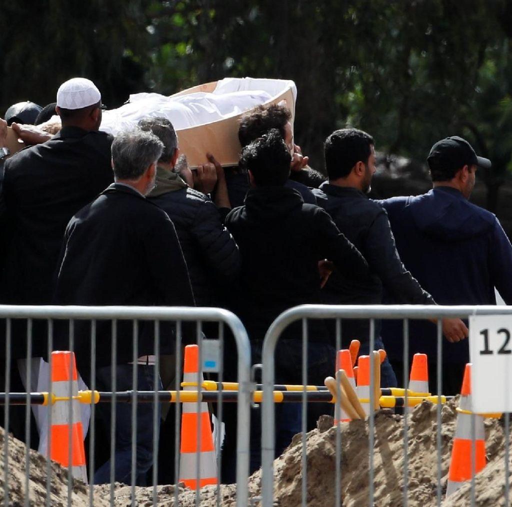 Pemakaman Massal Korban Penembakan di Masjid Selandia Baru