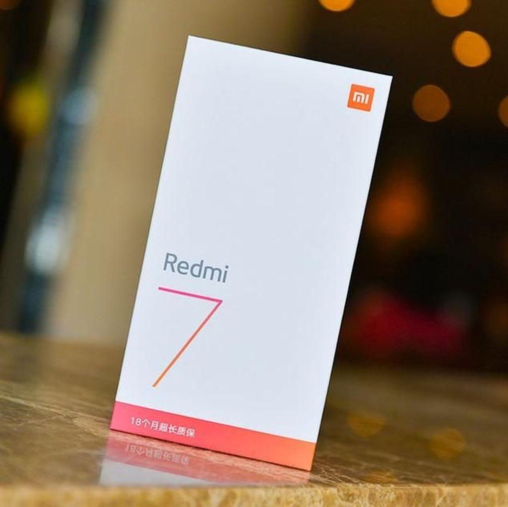 Penampakan Redmi 7, Ponsel Anyar Xiaomi Rp 1,5 Juta