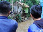 Penampakan Rumah yang Rusak Karena Banjir di Ujungberung