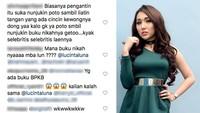 Hal itupun mengundang reaksi dari para netizen yang penasaran apakah Lucinta Luna benar-benar menikah?Dok. detikHOT; Dok. Instagram