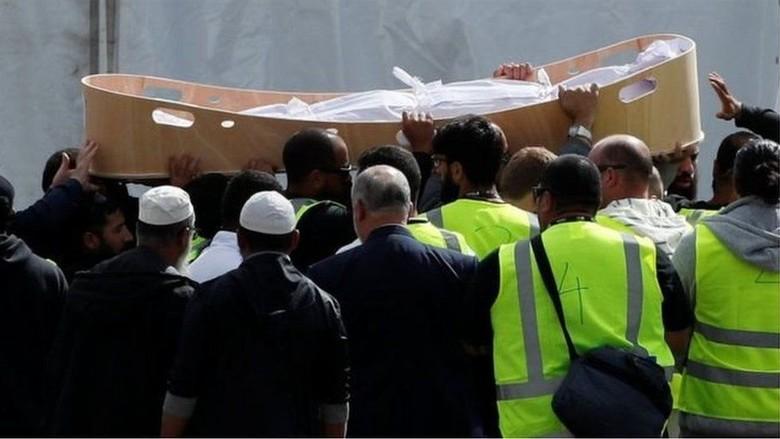 Korban Serangan Teror di Masjid New Zealand Mulai Dimakamkan