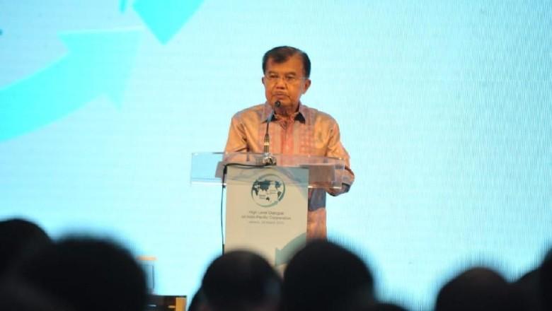 JK Soroti Pejabat Korupsi di Rakornas Pengawas Intern