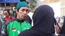 Sempat Deg-degan, Support Rekan Sesama Ojol Kuatkan Ahmad Hilmi