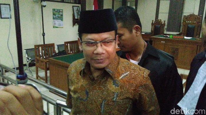 Wakil Ketua DPR nonaktif, Taufik Kurniawan di Pengadilan Tipikor Semarang, Rabu (20/3/2019).