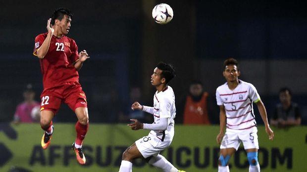 Nguyen Lien Tinh dicoret dari skuat timnas Vietnam U-23.