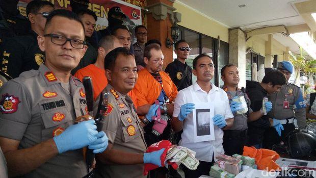 Pelaku perampokan money changer di Benoa, Kuta Selatan, Bali merupakan warga negara Rusia
