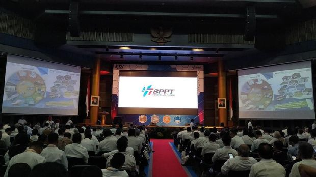 Suasana Kongres Teknologi Nasional 2019 yang digelar BPPT.