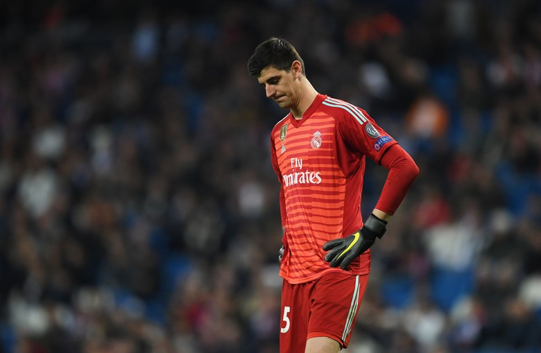 Courtois. Foto: David Ramos / Getty Images