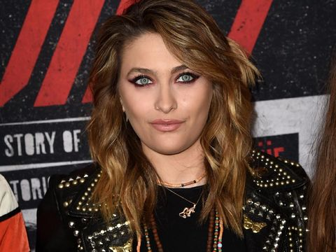 HOLLYWOOD, CALIFORNIA - MARCH 18: Paris Jackson arrives at the premiere of Netflix's