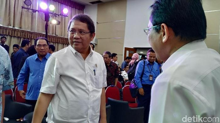 Menteri Komunikasi dan Informatika, Rudiantara. Foto: Agus Tri Haryanto/detikINET