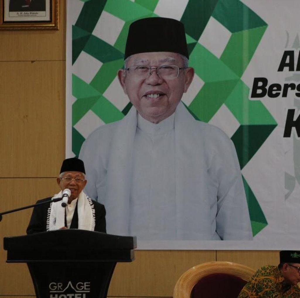 Maruf: Pilpres Bukan Perang, Tidak Perlu Ada Intimidasi