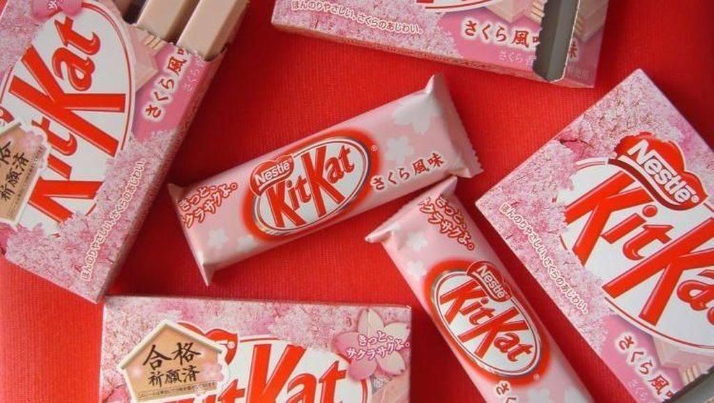 Kit Kat dengan Rasa Unik, Nasi Lemak hingga Bunga Sakura