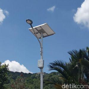 Jonan Tambah Lampu Tenaga Surya di Kabupaten Bogor Jadi 1.000