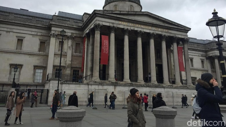 Foto: National Gallery London (Ken Yunita/detikcom)