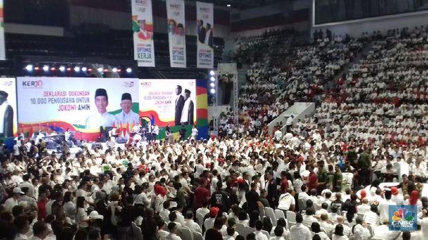 Ketum Apindo Sebut 10.000 Pengusaha Dukung Jokowi-Ma'ruf