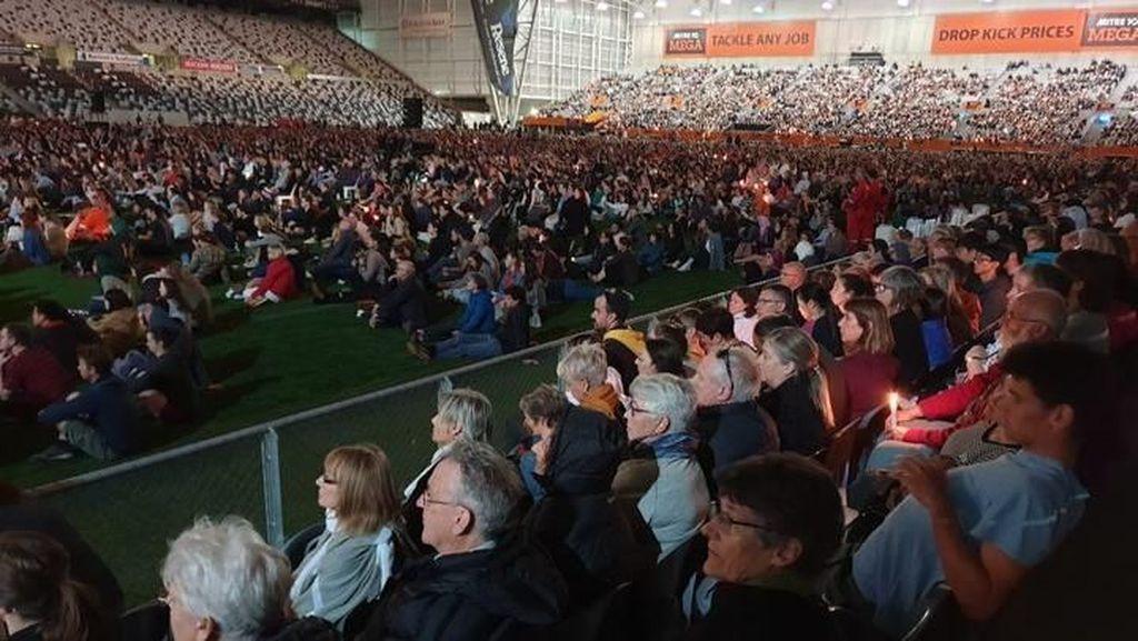15 Ribu Warga New Zealand Ikut Aksi Hening untuk Korban Teror Masjid