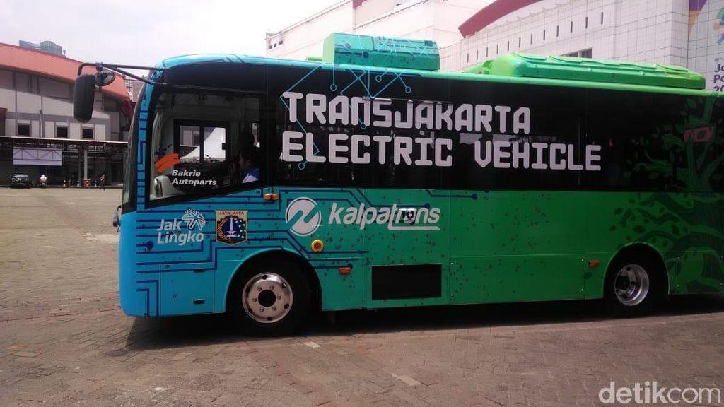Bus Listrik China Ini Sudah Pernah Diuji di Bali