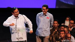 Canda Prabowo-Sandi ke Pengusaha soal Sumbangan