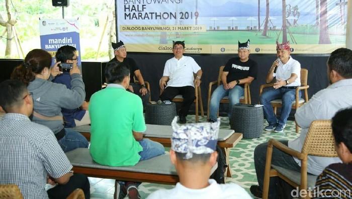 Jumpa pers Mandiri Banyuwangi Half Marathon (Foto: Ardian Fanani)