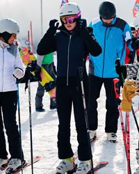 Luna Maya bersiap main ski (Instagram/@lunamaya)