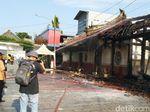 Jejak Keganasan Api di Kelenteng Tay Kak Sie yang Tewaskan Penjaga