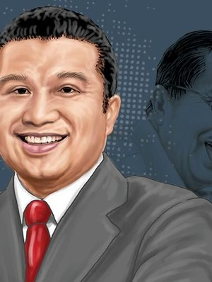 Erwin Aksa, King Maker di Balik Duet Anies-Sandi di DKI