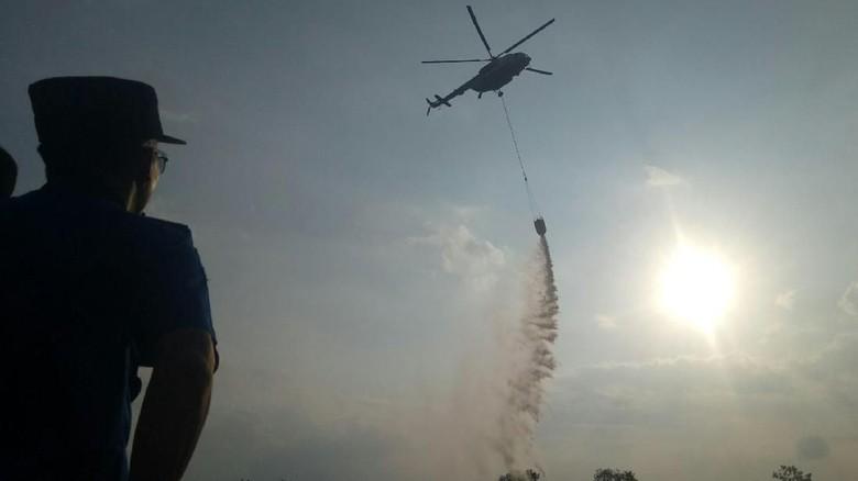 Teknisi Heli Water Bombing Asal Rusia Meninggal di Palembang