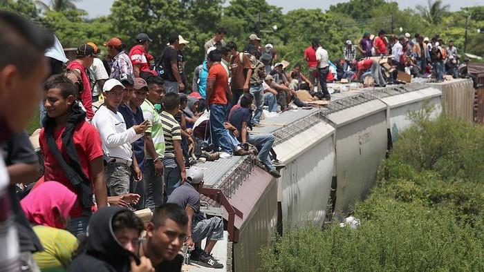 Jumlah imigran kurang dari 4% penduduk dunia tetapi masalah itu telah menjadi perkara besar di sejumlah negara. (Getty Images)