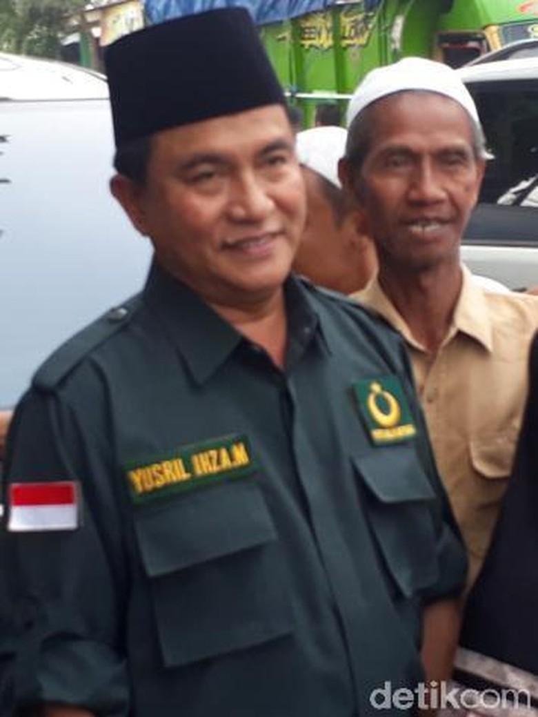 Yusril Tegaskan PBB Bulat Dukung Jokowi-Maruf