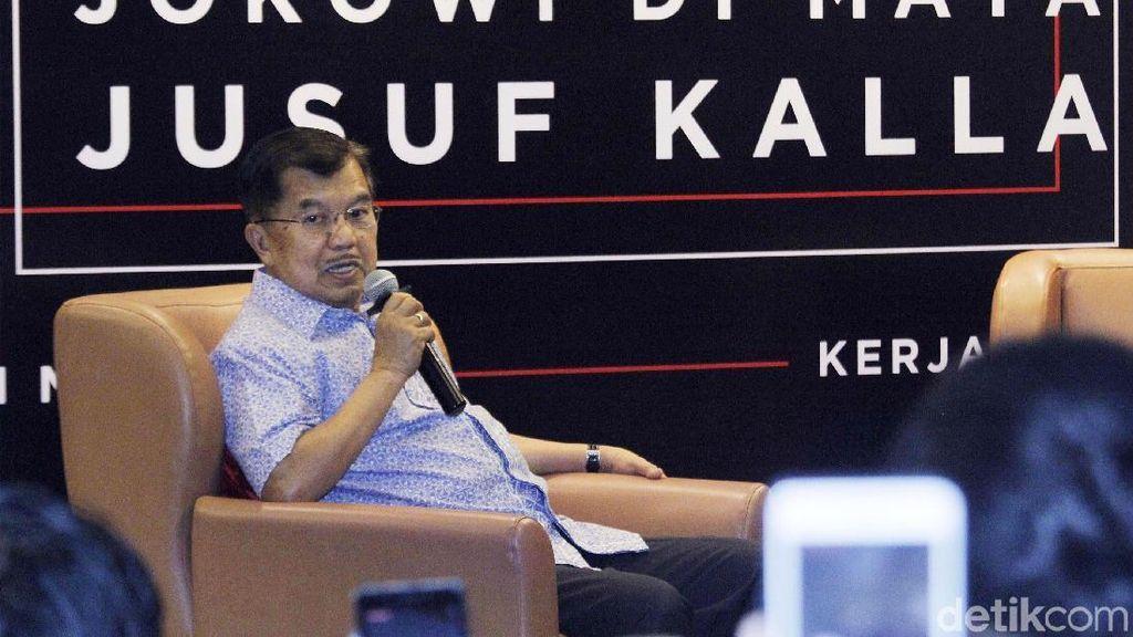 JK Sebut akan Pensiun Usai Tak Lagi Dampingi Jokowi
