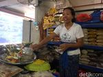 Pedagang Pasar Badung Bali Rela Beli Baju demi Ketemu Jokowi Besok