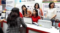 Target Transaksi Kartu Kredit Bank Mega di Mega Travel Fair Surabaya