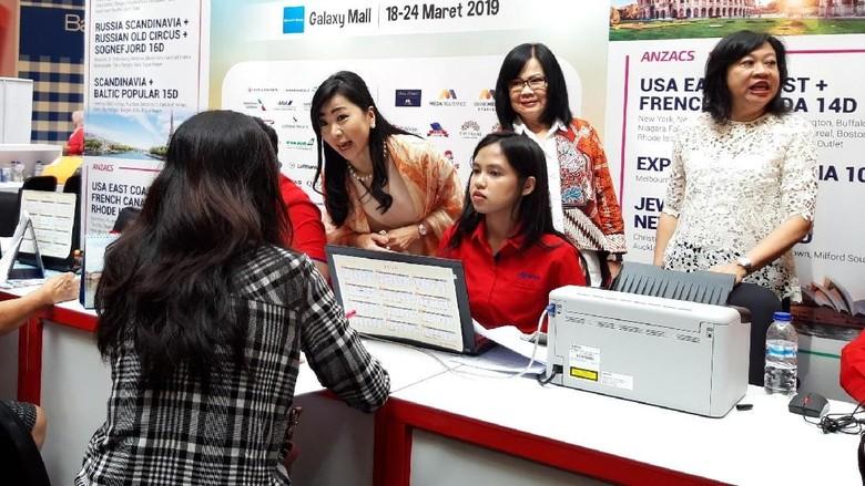 Mega Travel Fair Surabaya (Hilda Meilisa Rinanda/detikcom)