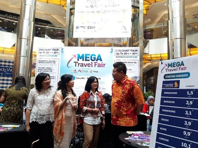 Mega Travel Fair Surabaya 2019 Bertabur Promo Liburan