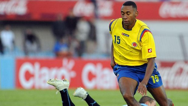 Jhon Viafara pernah memperkuat timnas Kolombia selama tujuh tahun. (