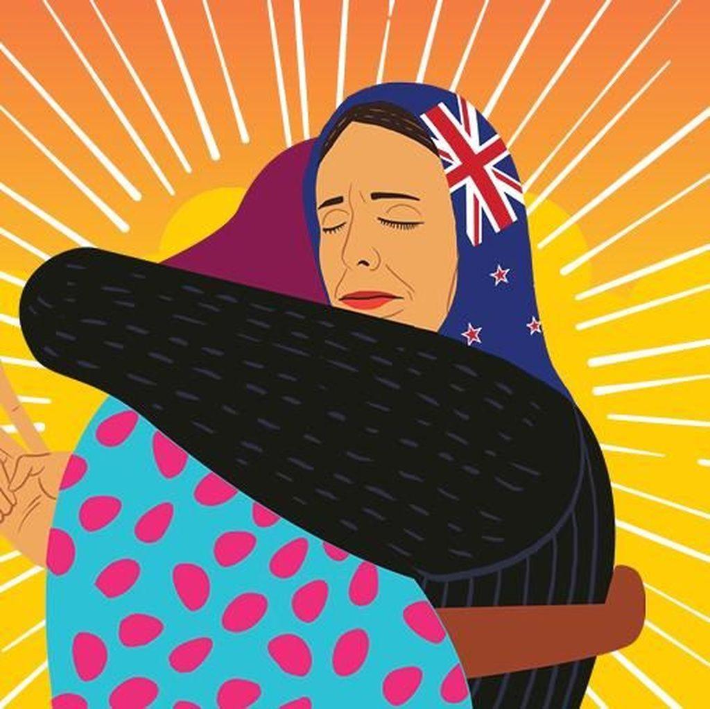 Fakta dan Aksi Simpatik PM New Zealand Jacinda Ardern