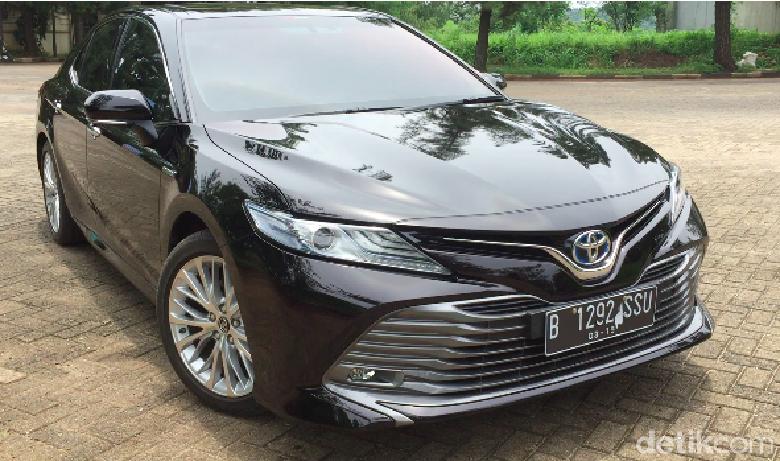 Toyota Camry model 2019 (Foto: Dadan Kuswaraharja)