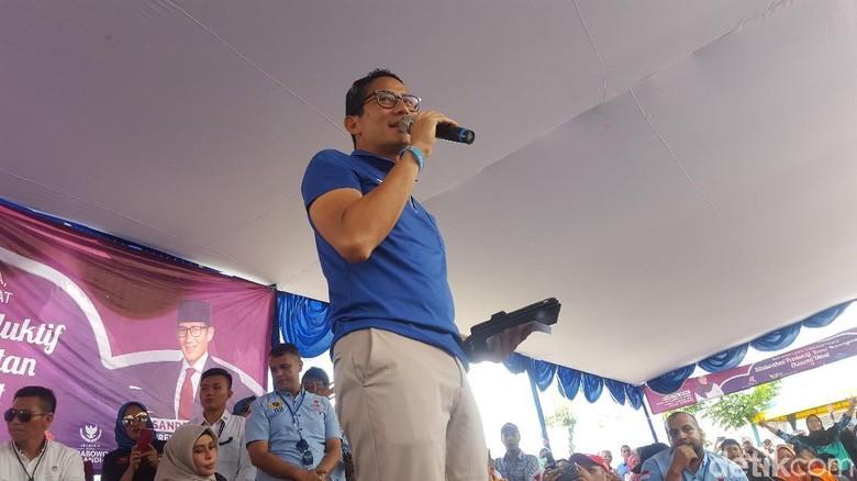 Nurullita Dipecat Usai Hadiri Acara Jokowi, Sandiaga: Nggak Adil