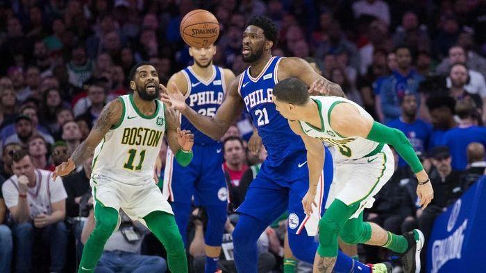 Sixers kalahkan Boston Celtics (Bill Streicher-USA TODAY Sports)