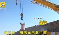 Pria Ini Habiskan Rp 63 Juta Untuk Buat Oven Batu demi Panggang Sapi