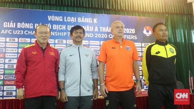 Indra Sjafri Umbar Optimisme Jelang Timnas U-23 vs Thailand