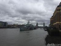 Tower Bridge yang terkenal (Ken Yunita/detikcom)