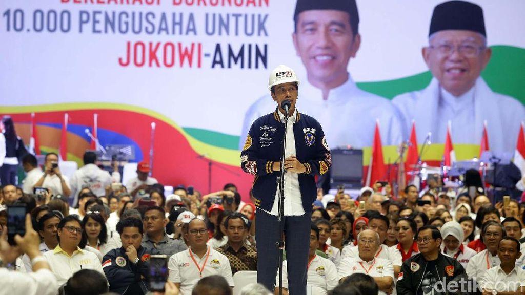 Bicara Karir di Pemerintahan, Jokowi: Jangan Kasih yang Coba-coba