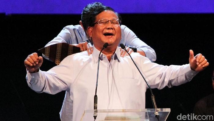 Prabowo Subianto (Rifkianto Nugroho/detikcom)