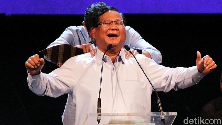 Prabowo: Lembaga Survei Banyak Bohong, Kuno!