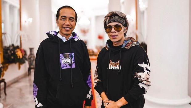 Atta dan Jokowi.