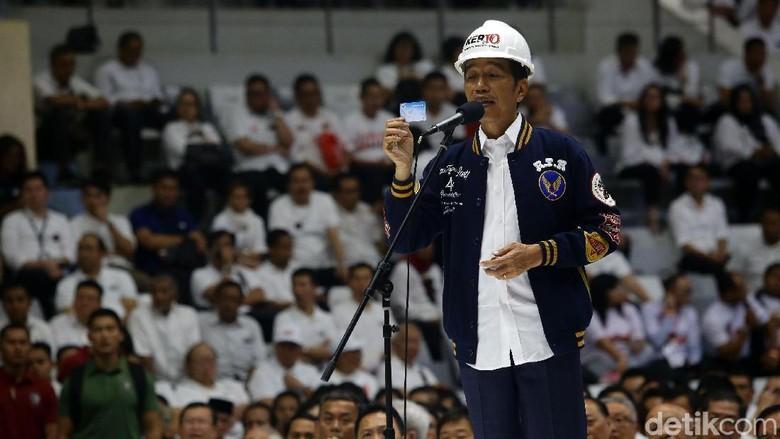 Jokowi Ingatkan Pendukung Nyoblos Saat 17 April